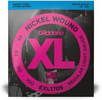 EXL170S - XL Bass Nickel Would, Short Scale 45-100