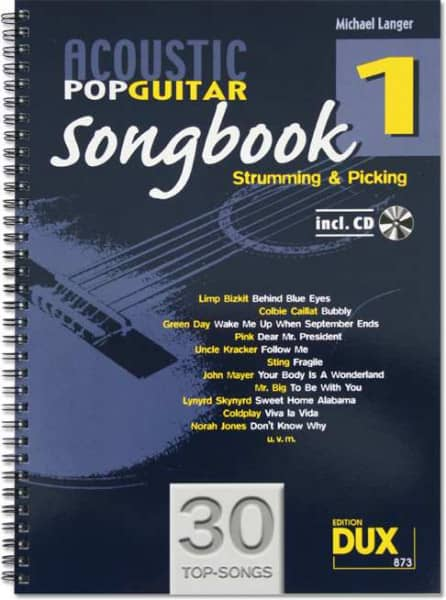 Michael Langer - Acoustic Pop Guitar Songbook 1