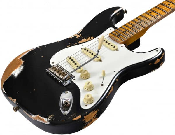 2018 HEAVY RELIC® 1958 STRATOCASTER® - AGED BLACK