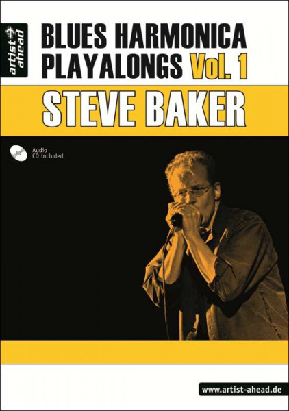 Steve Baker - Blues Harmonica Playalongs Vol. 1