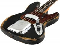 Custom Shop 1960 Jazz Bass HVYREL ABLK