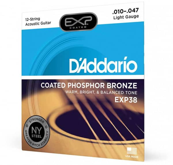 EXP38 - EXP 12-String Acoustic Phosphor Bronze 10-47