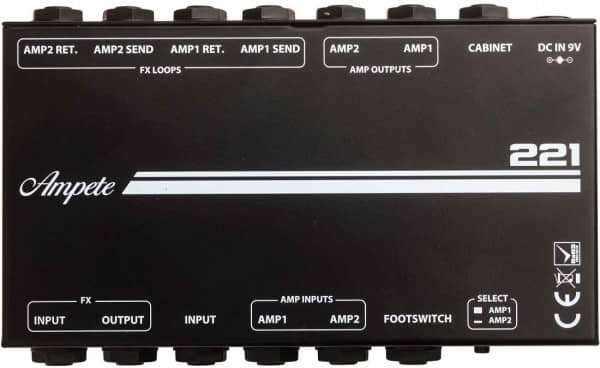 221 Amp Cabinet Switching System