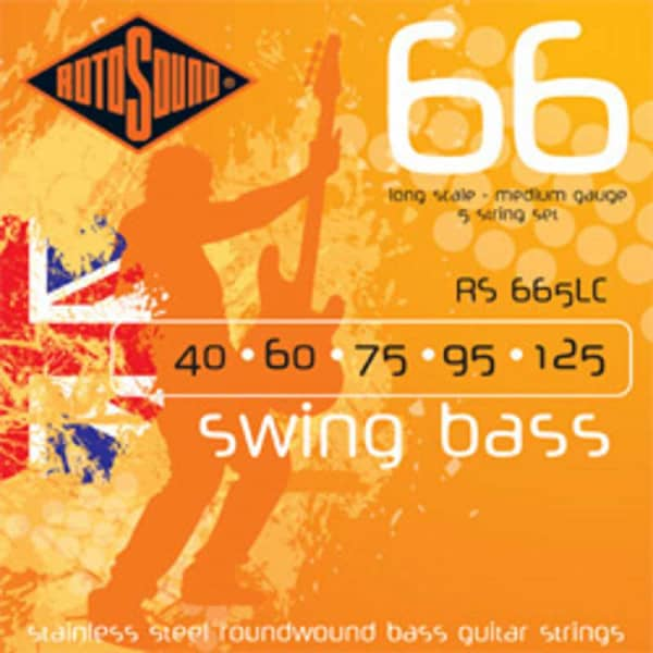 RS665LC 5-String Swing Bass Stainless Steel 040 - 125