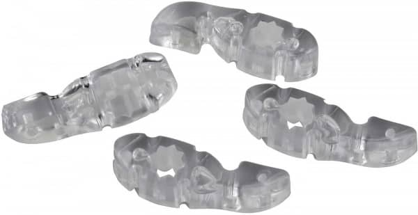 Lug Locks 4er Pack - Clear