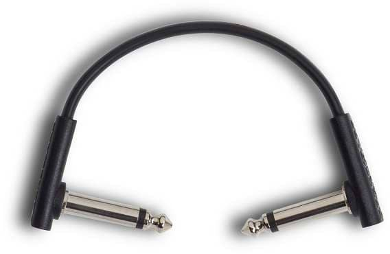 Flat Patch Cable Black 10 cm