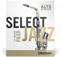 Select Jazz Filed - Alt Saxophone 3H - 10er Pack