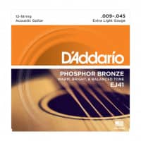 EJ41 - 12-String Acoustic Phosphor Bronze 09-45