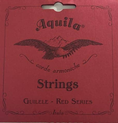 Guitarlele Strings - 133C - Red Series A-Tuning