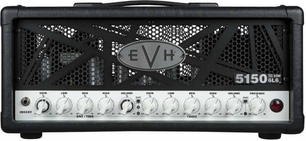 5150 III 50 Watt 6L6 Head Black