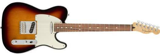 Player Telecaster PF 3TS