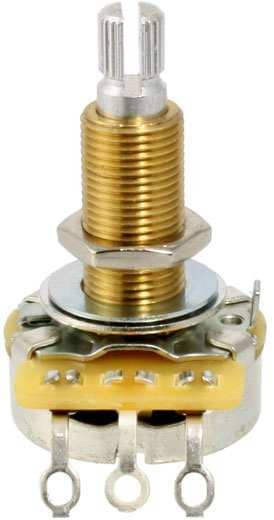 Potentiometer Lang 500 kOhm