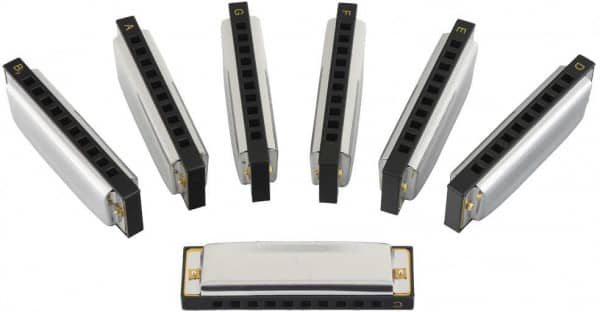 Blues Harp Set 7 Tonarten