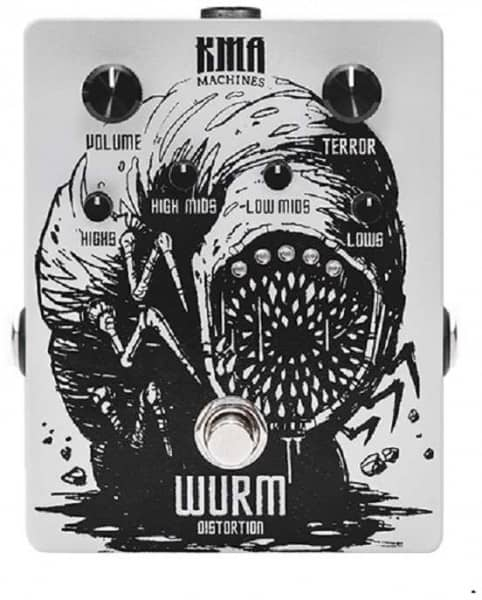 Wurm Distortion Pedal