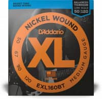 EXL160BT - XL Bass Nickel Wound, Balanced Tension, Long Scale 50-120