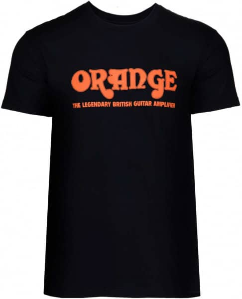 Classic Orange T-Shirt Black - L