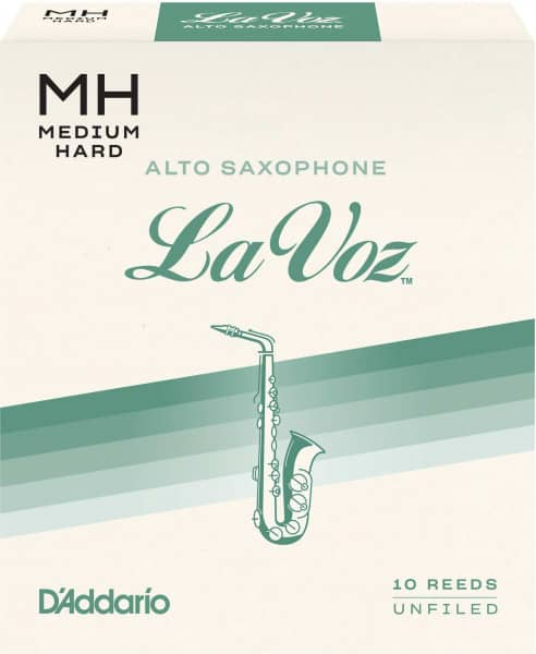 La Voz - Alt Saxophone Medium Hard - 10er Pack