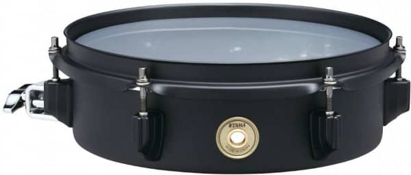 BST103MBK - Metalworks Black Steel Effect Snare - 10 x 3 Zoll