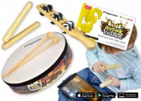 Rhythmic Village Percussion-Set