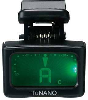 TuNANO Mini Clip-On Tuner