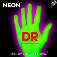 Neon HiDef Green Bass Superstrings Medium NGB5-45
