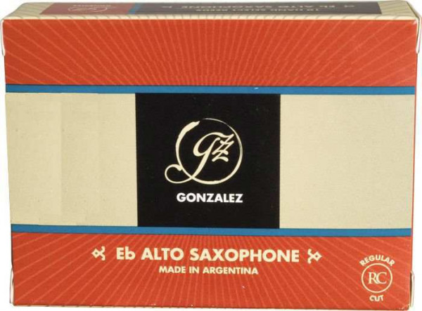 Regular Cut 2,5 Altsaxophon 10er Pack