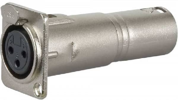 Adapter FLA 50 XLR 3-pol Female - XLR 3-pol Male D Serie