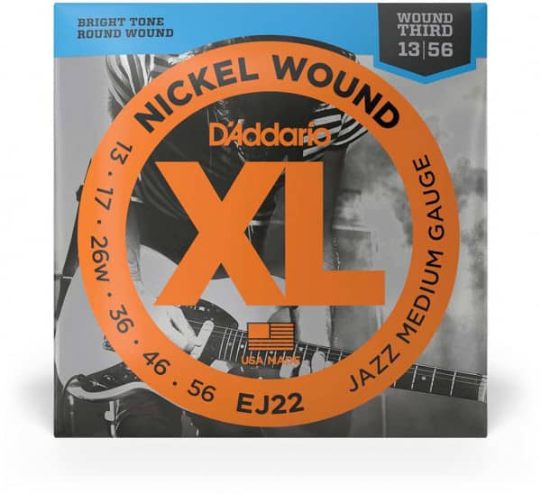 EJ22 - XL Electric Jazz Nickel Wound 13-56