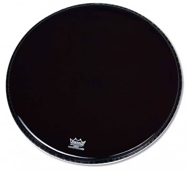 Powerstroke 3 - Bass Drum Fell - 20 - Ebony -