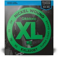 EXL220BT - XL Bass Nickel Wound, Balanced Tension, Long Scale 40-95