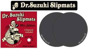 Dr.Suzuki Slipmats Mix Edition black