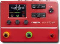 HX Stomp Red LTD