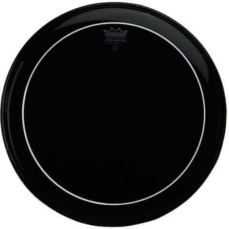 Pinstripe - Bass Drum Fell - 24 Zoll - Ebony