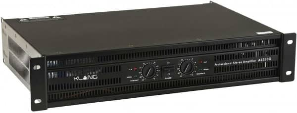 Power Amplifier A2350G 2x520 W