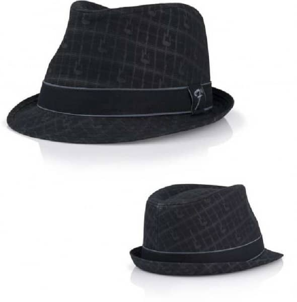 Fedora Axe Plaid Hat - Black - L/XL
