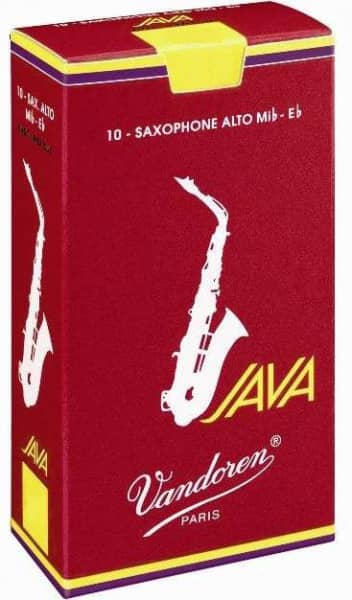 Java Red 1,0 Altsaxophon 10er Pack