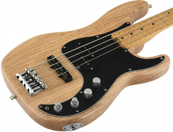 American Elite Precision Bass Ash MN NAT   - SHOWROOM MODELL -