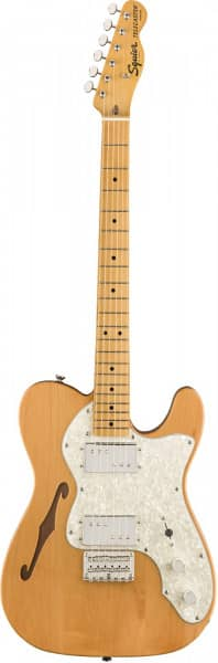 Classic Vibe Telecaster Thinline 70s MN NAT