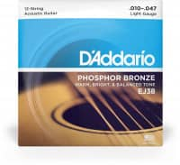 EJ38 - 12-String Acoustic Phosphor Bronze 10-47