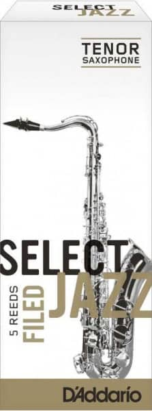 Select Jazz Filed 3,0 Soft Tenorsaxophon 5er Pack