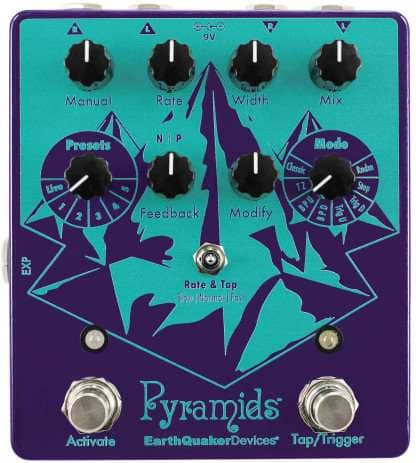 Pyramids - Stereo Flanging Device