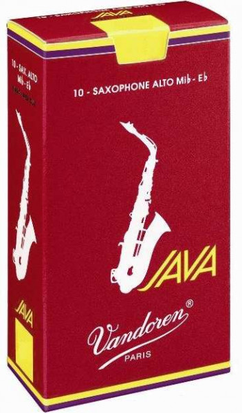 Java Red 4,0 Altsaxophon 10er Pack