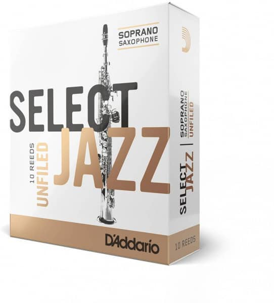 Select Jazz Unfiled - Sopran Saxophone 2S - 10er Pack