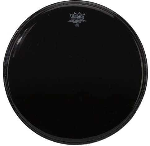 Ambassador - Bass Drum Fell - 24 - Ebony