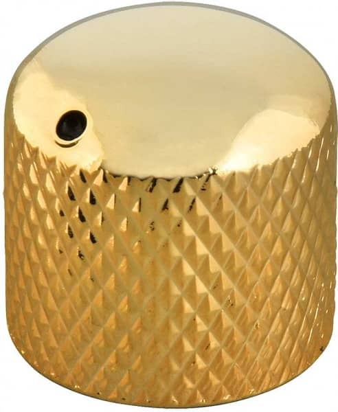 KB00G Dome Speed Knob mit Markierung - Gold