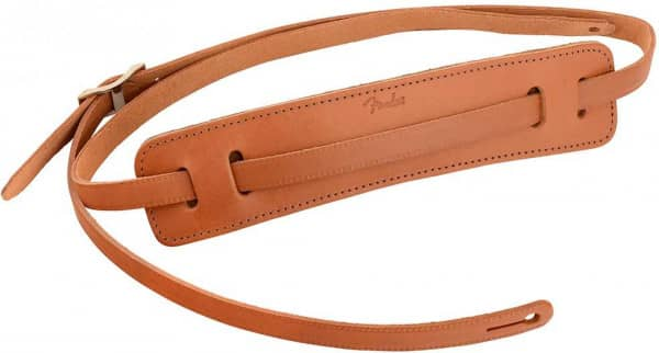 Gitarrengurt Deluxe Vintage Strap Leather Natur