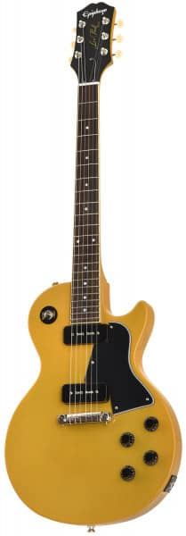 Bild von EPIPHONE Inspired by Gibson Les Paul Special TV Yellow_1