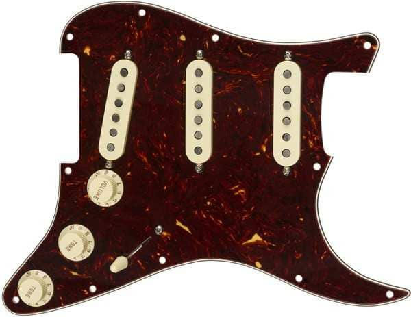 Pre Wired Pickguard Set Texas Special Shell
