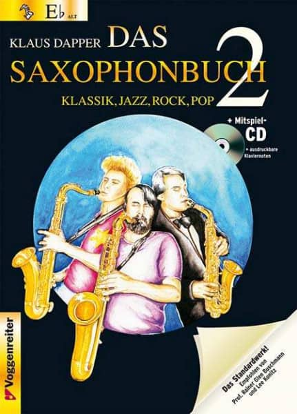 Klaus Dapper - Das Saxophonbuch 2 - Version Eb