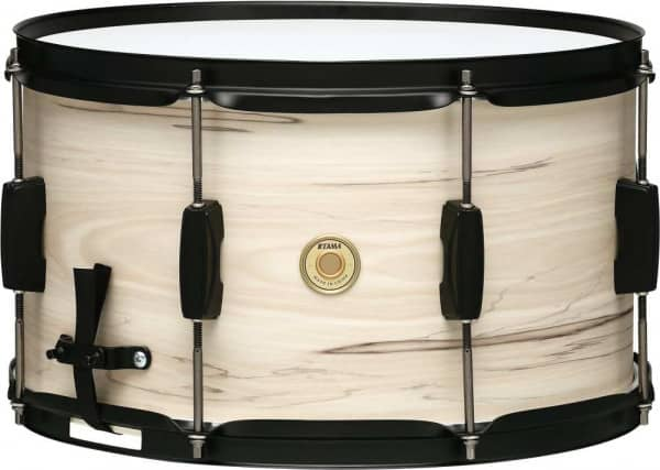 WP148BK-WBW - Woodworks Snare - 14 x 08 Zoll - White Birch Wrap